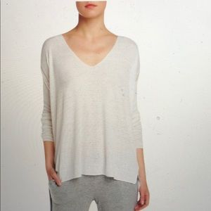 Theory New Larissa Linen Blended Sweater